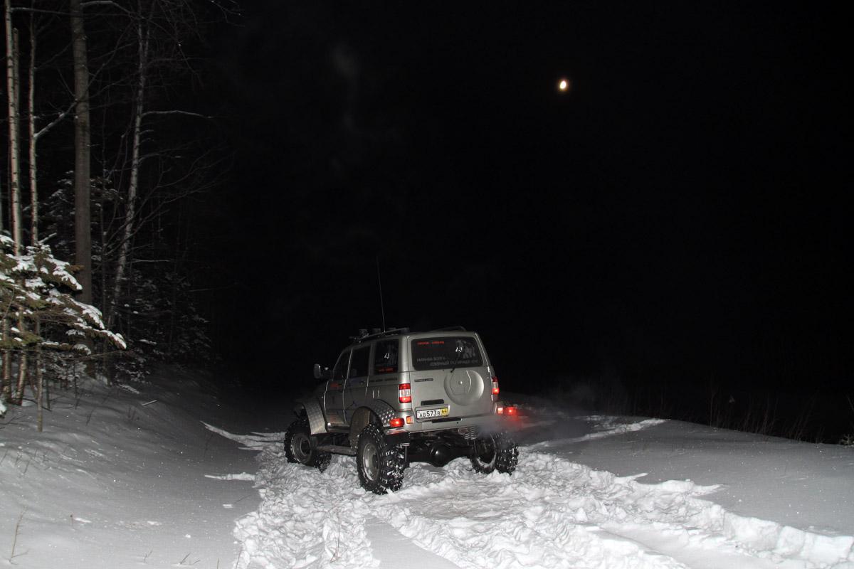 ночевка в Уральских горах